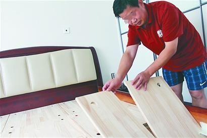 一统木床床板一月内折断或因设计缺陷