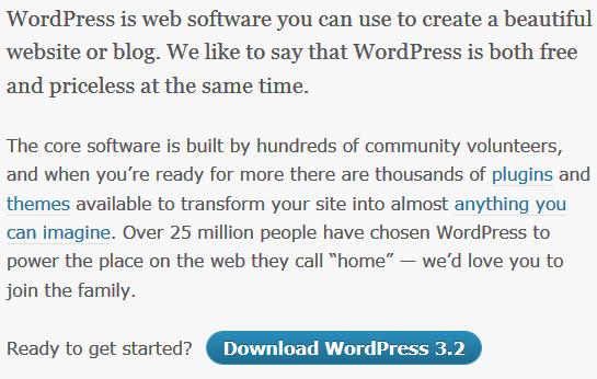 WordPress 3.2 发布