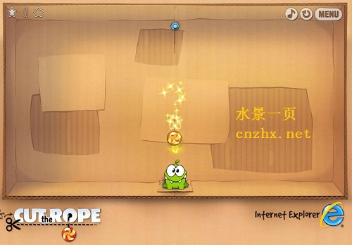 Cut the Rope round 1