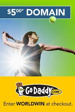 Go Dadddy $5.00 域名优惠码