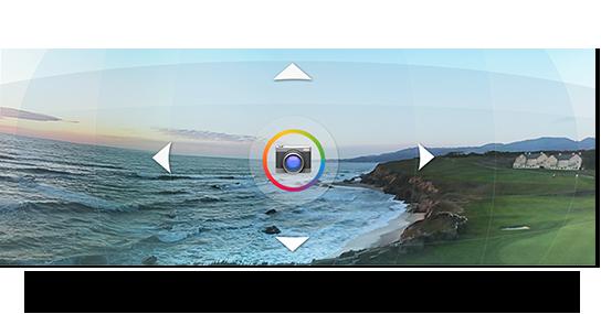 Jelly Bean 4.2 上的 360 度全景相机