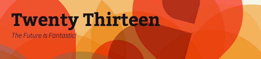 WordPress Twenty Thirteen 2013 主题截图