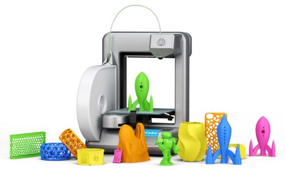 京东商城开卖的 Cube 3D 打印机