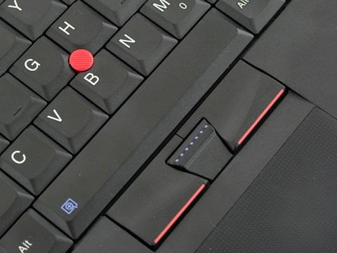 ThinkPad 上的指点杆和其按键