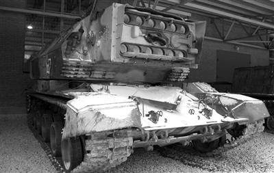 苏联研制的激光坦克 1K-17