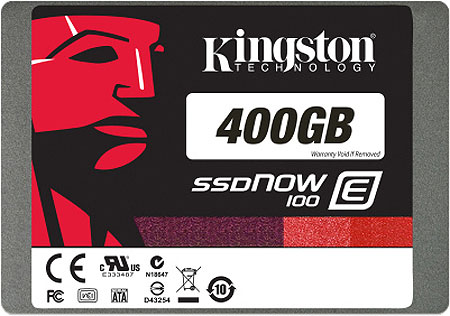 金士顿发布首款企业级固态硬盘 SSDNow E100
