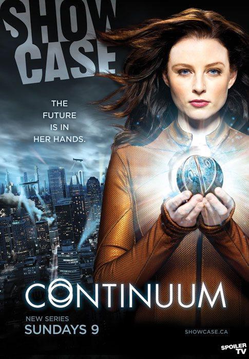 Continuum 超越时间线 海报
