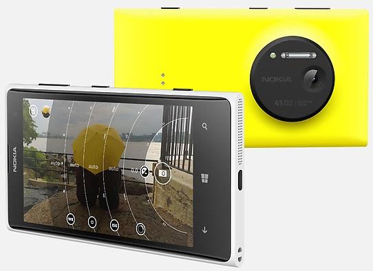 诺基亚新旗舰 Windows Phone 智能手机 Lumia 1020
