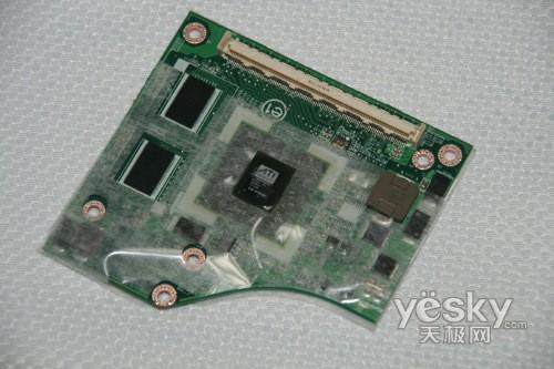 东芝M332搭载的ATI HD3470独立显卡模块
