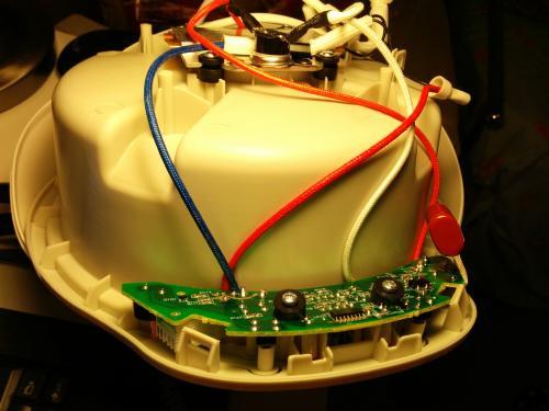 电炖盅内部电路板